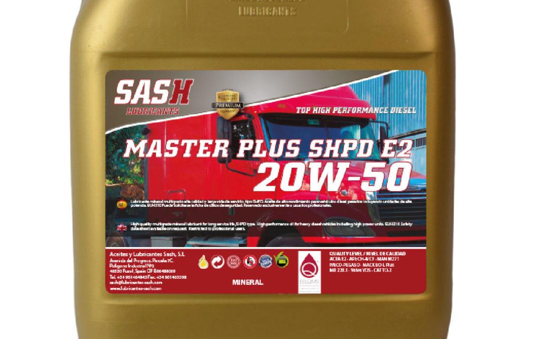 MASTER PLUS SHPD E2 20W-50