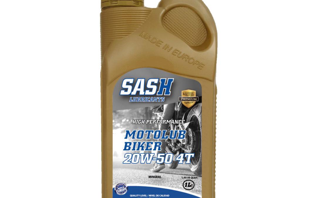 MOTOLUB BIKER 4T 20W-50